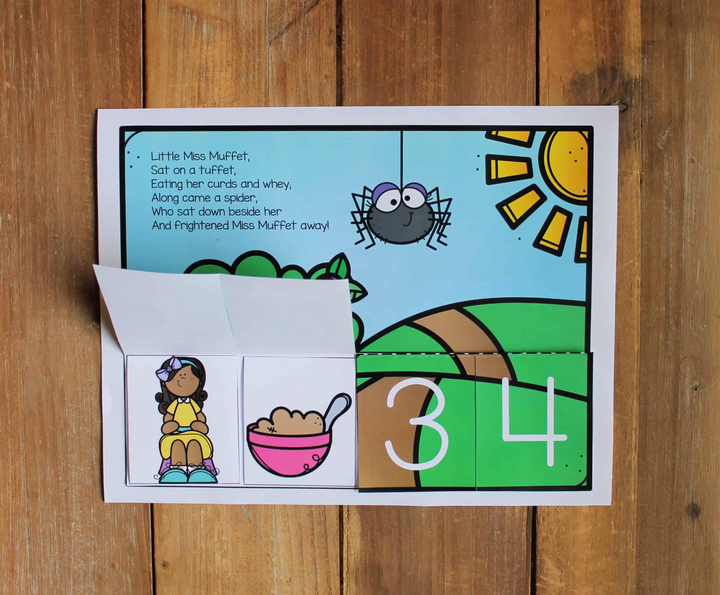 Bundle Of Nursery Rhyme Sequencing Activities For Kids