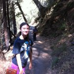 Hiking down to Crystal Cave