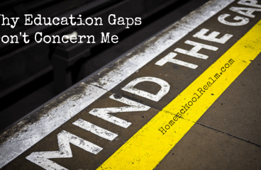Why education gaps don't concern me