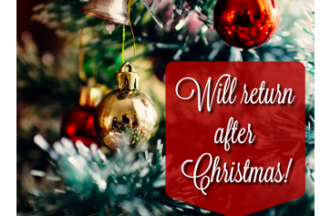 Will Return After Christmas!