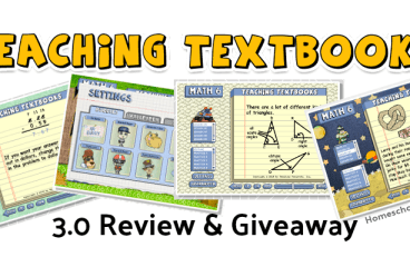 Teaching Textbooks 3.0 Review and Giveaway