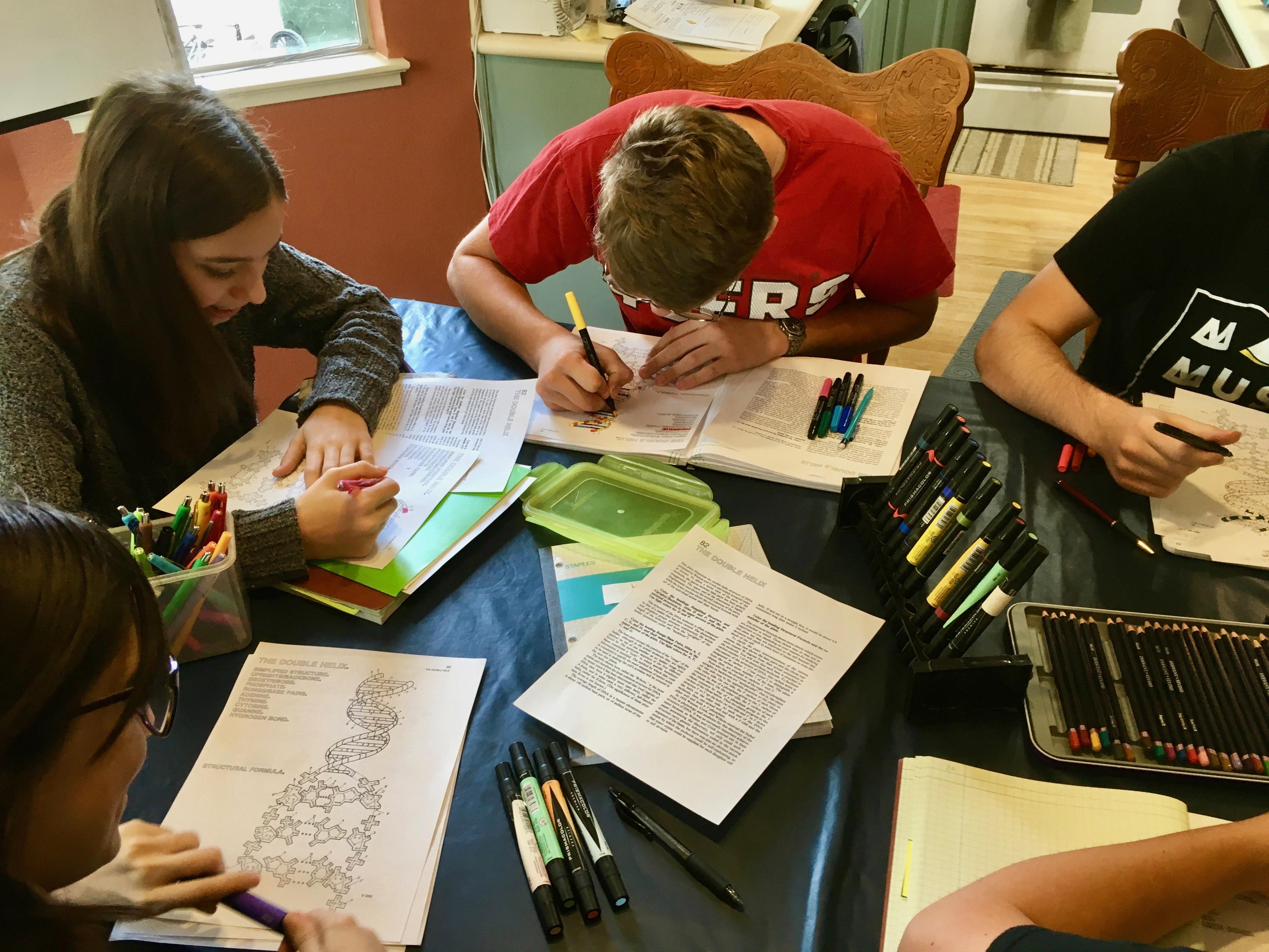 High School Biology 11 Dna Homeschoolsciencegeek