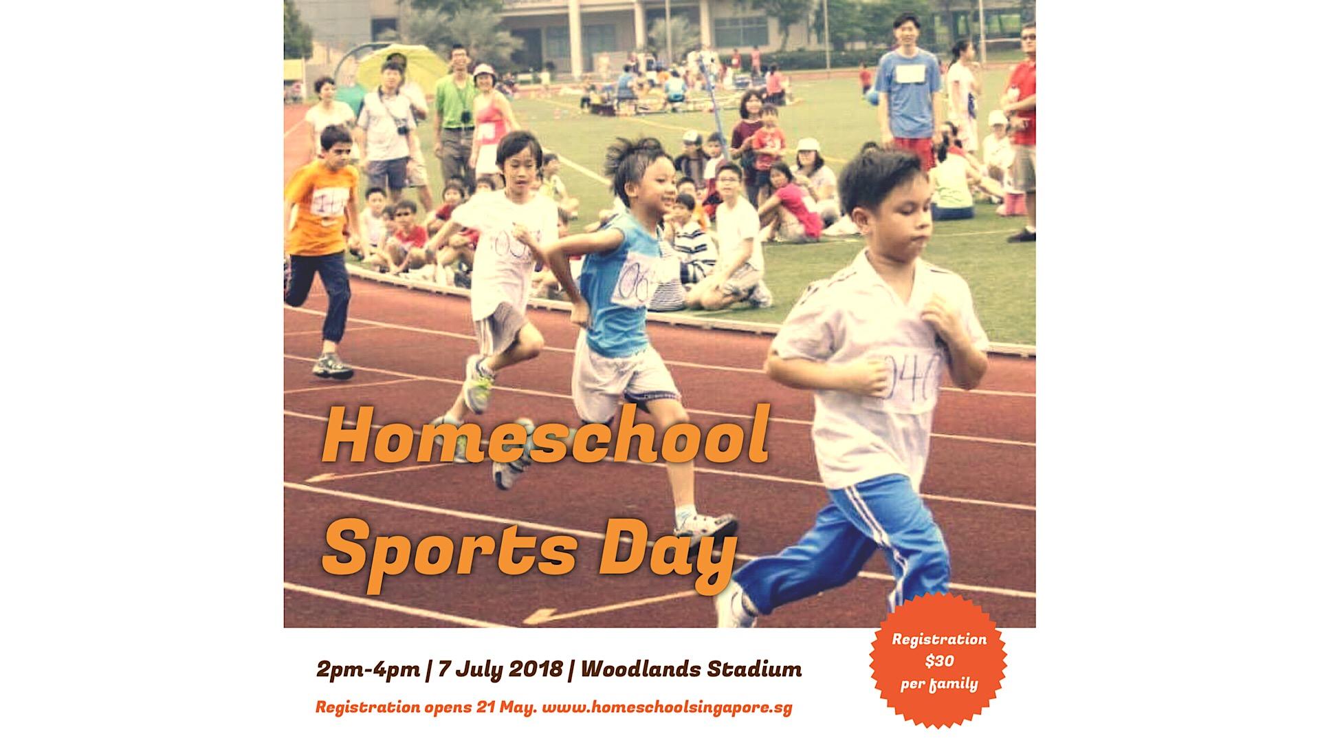 Homeschool Sports Day returns!