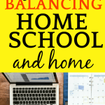 Homeschool Balance and Free Printable Planner