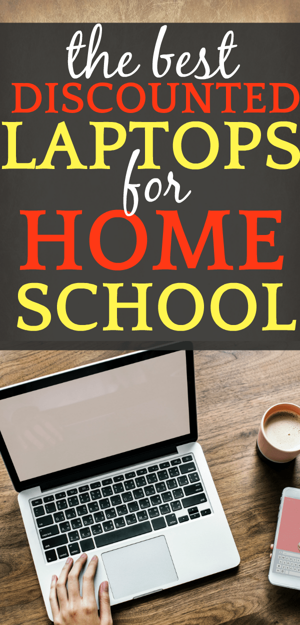 Best Laptops for Homeschool laptop with hand resting on it