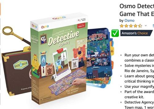 Osmo Detective Agency Game: Amazon's Choice