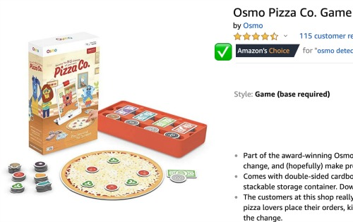 Check out Osmo Pizza Co Game: Amazon's Choice