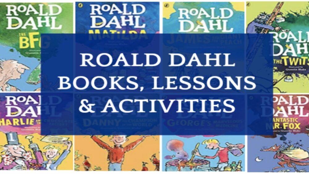Roald Dahl Day Activities with Roald Dahl books list