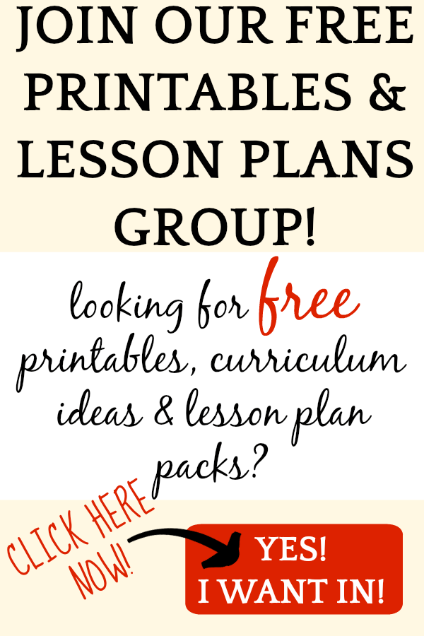 Join our free printables group!