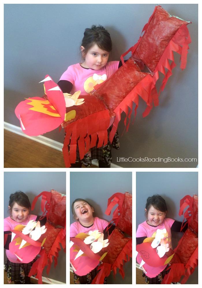 DIY Chinese New Year Dragon!