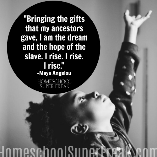 Black History Month Quotes: Maya Angelou I Rise