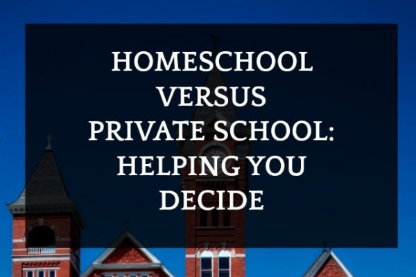 Homeschool vs Private School: 6 Things to Ask + 1 Mom's Experience
