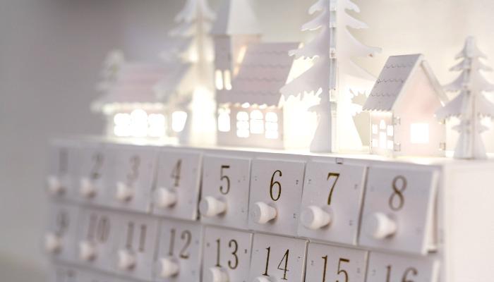homemade advent calendar ideas white advent calendar with drawers