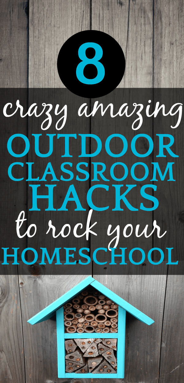 AWESOME OUTDOOR CLASSROOM IDEAS