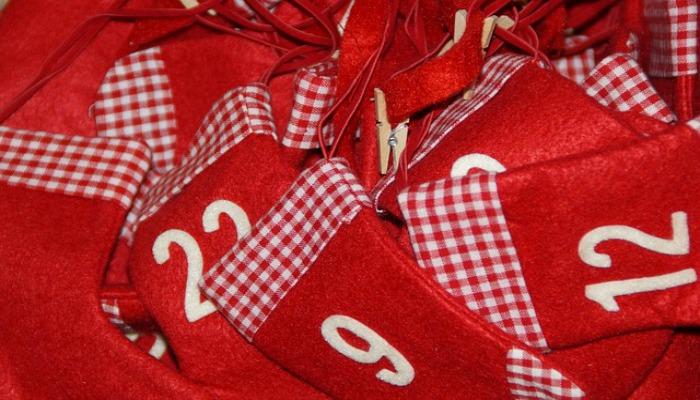 DIY Advent Calendar Idea #3. Mini Stocking Advent Calendar