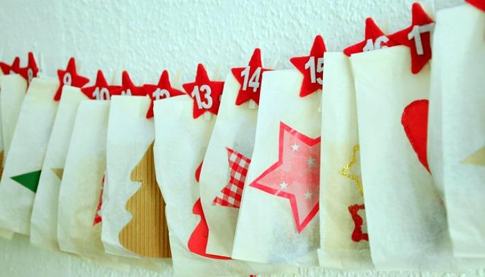 DIY Advent Calendar Idea #6. Envelope Advent Calendar