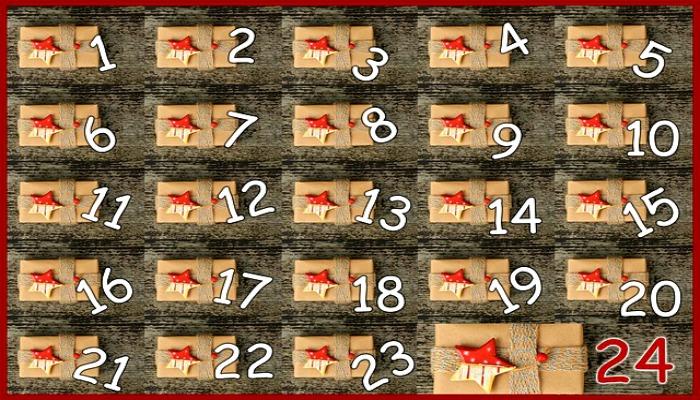 DIY Advent Calendar Idea #9. Wrapped Package Advent Calendar