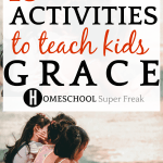 What Is Grace: 13 Games and Activities to Teach Kids Grace: 3 kids sitting on the ground