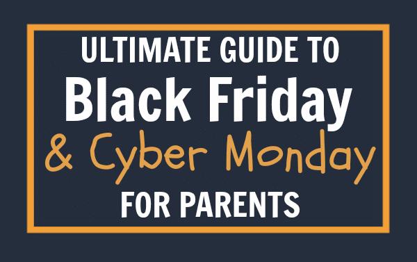 Best Black Friday deals online white text on a black background