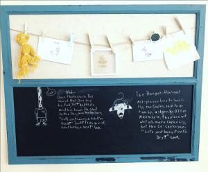 Homeschool Class Makeover Art Display