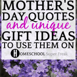 MOTHER'S DAY QUOTES AND DIY MOTHER'S DAY GIFTS