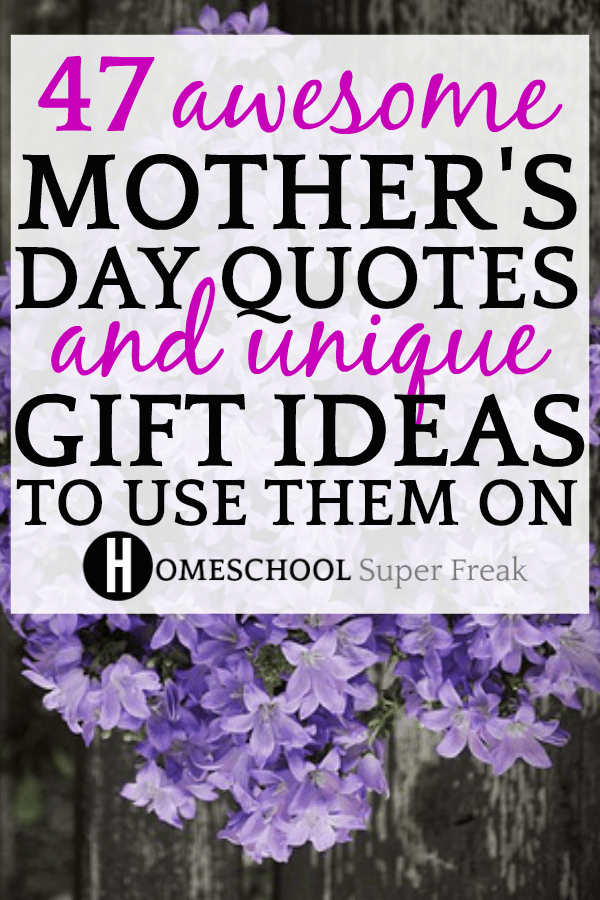 HAPPY MOTHER'S DAY QUOTES AND DIY MOTHER'S DAY GIFTS