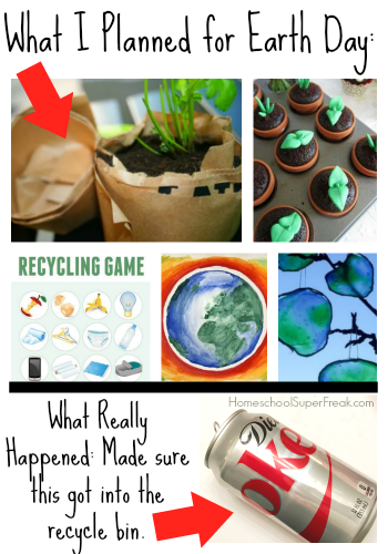 Funny Homeschool Meme: What Really Happened On Earth Day