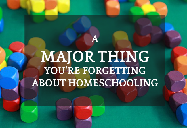 Flexible Homeschool Schedule: The MAJOR Thing You're Forgetting