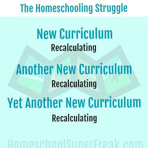 Funny Homeschooling Memes #6: Choosing New Homeschool Curriculum Struggle