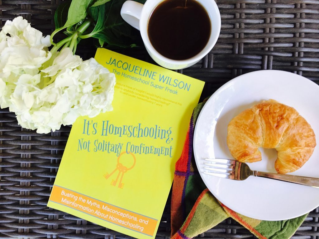 Help with Homeschooling Book: It's Homeschooling Not Solitary Confinement by Jacqueline Wilson