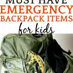 Preparing An Emergency Go Bag for Kids