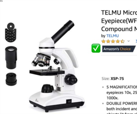 Types of Microscopes: Amazon's Choice for Compound Light Microscope!