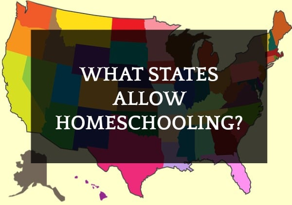 What States Allow Homeschooling? (And, where is homeschooling illegal?)