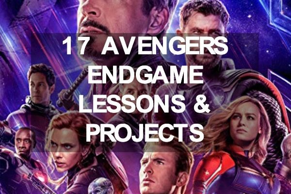 Avengers Endgame Lesson Plans