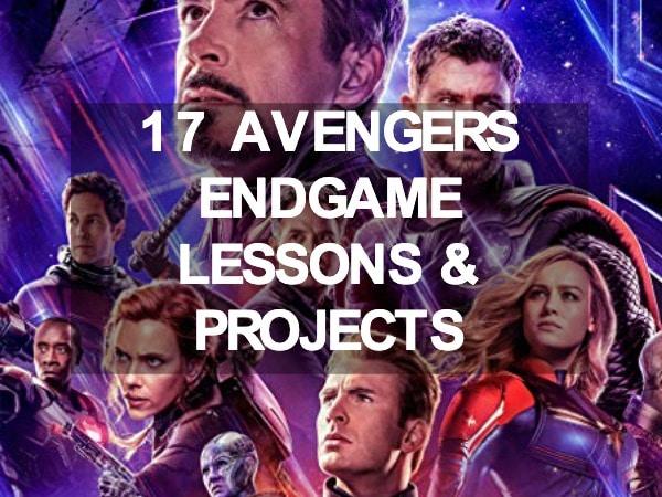Avengers Endgame Lesson Plans