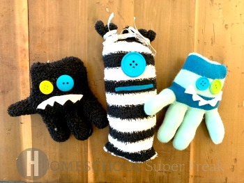 Easy No Sew Monster Crafts