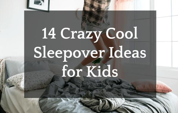 Best Sleepover Ideas for Kids kid legs jumping on bed