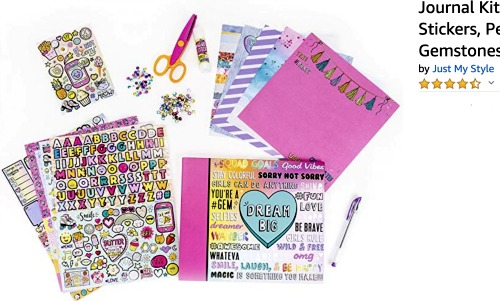 Sleepover Ideas: Scrapbooking scrapbooking set with paper scrapbook scissors stickers