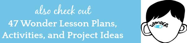 Wonder Lesson Plans