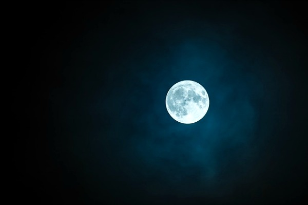 Full Moon Schedule and 22 Moon Activities for Kids bright full moon in a dark sky