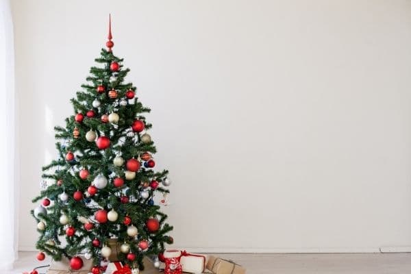 Christmas Gifts for Mom Guide Christmas tree with gifts under it