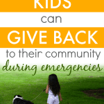 How Kids Can Help Community During Emergencies