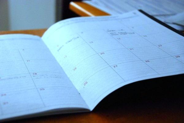 School Schedule at Home