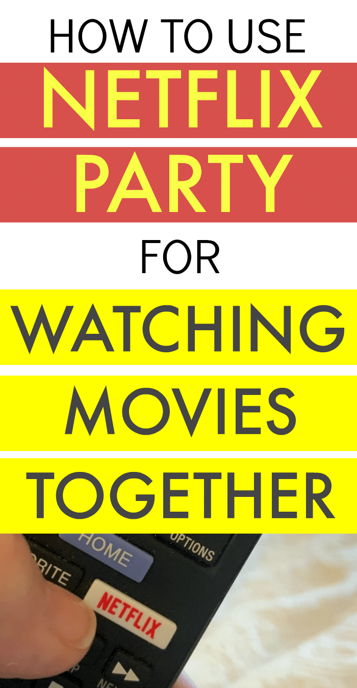 How To Use Netflix Party To Watch Movies Together