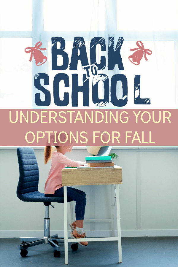 School Choices for Fall caucasian preteen girl sitting at desk