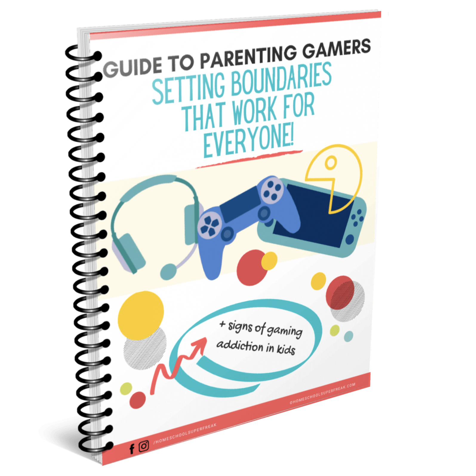 GUIDE TO PARENTING GAMERS: Setting Boundaries for Gaming Kids cover