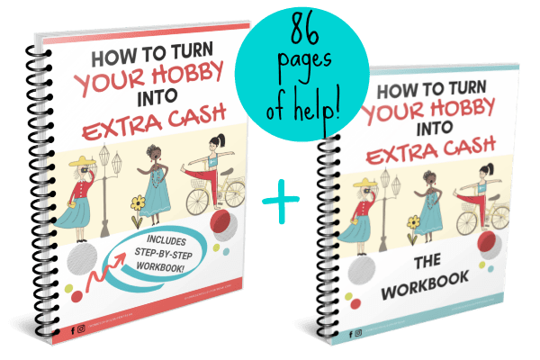 how make extra money online ebook cover with cartoon women
