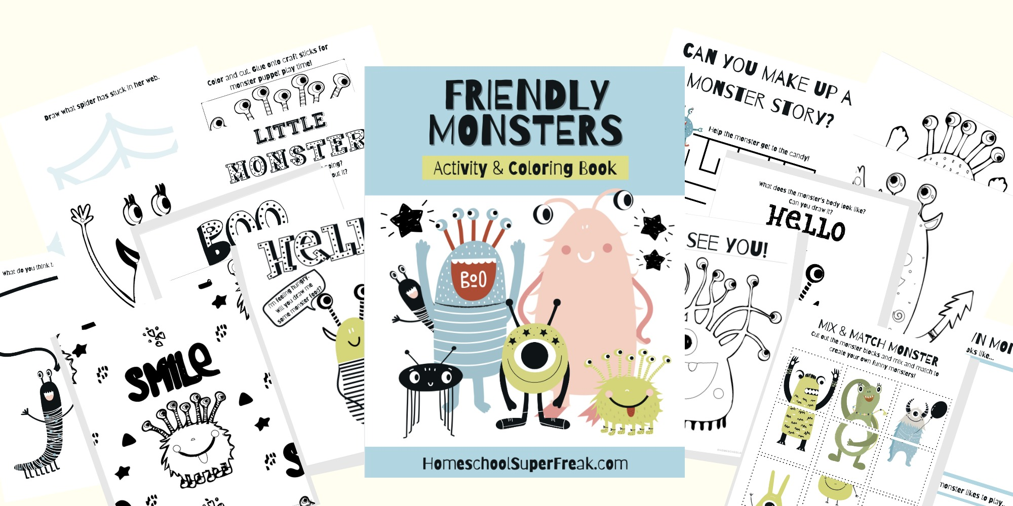 Kid Printables Coloring Pages & MORE!