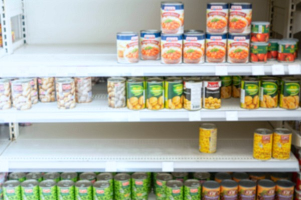 empty shelves food shortages