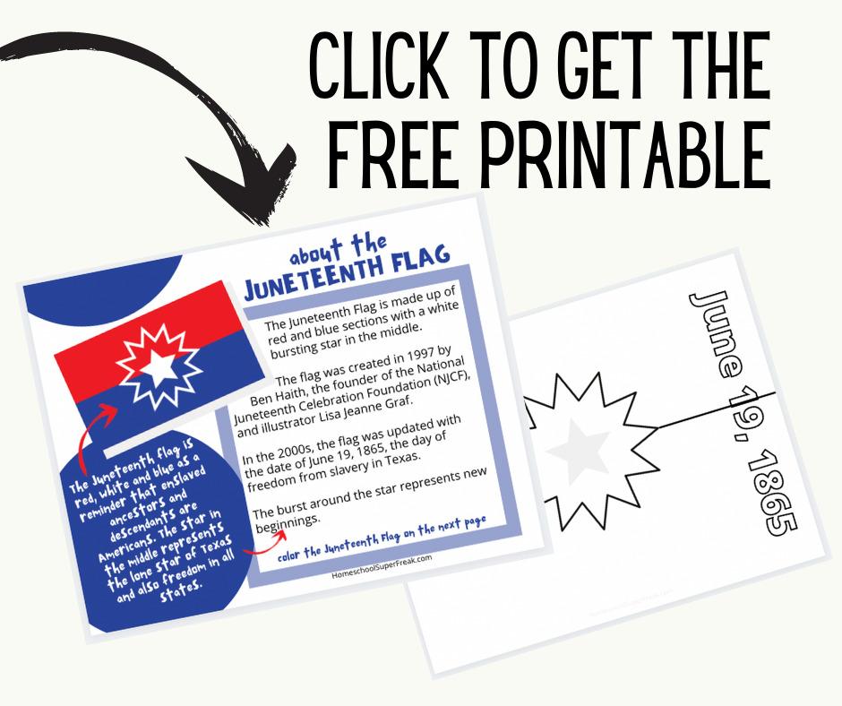 Free Juneteenth Printables